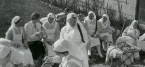 Sykepleiere i Bodø rundt 1930.