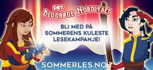 Sommerleslogo, Astrid og Asbjørn, Det blodrøde nordlyset