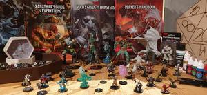 Spillbrikker, Dungeons and Dragons